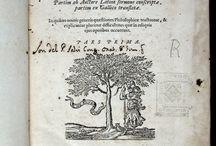 Descartes, René. Renati Descartes Epistolae : ... [07 XVII-8938-8940] / Primera edició completa en tres volums de la correspondència de René Descartes. Conté les cartes a la princesa Elizabeth, filla de Frederic V, Elector Palatí i rei de Bohèmia. Elizabeth era filòsofa i també va ser per un temps l'abadessa d'Herford. Era una persona molt apreciada per Descartes, intel·lectualment  i personal i fruit de la seva alta consideració va ser la dedicatòria que li va fer en la seva obra Les Principes de la philosophie.