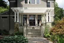 Porches, Pergolas and walkways / by Dee