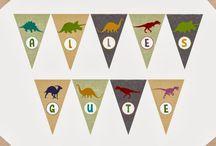 Fiesta dinosaurios / Dinosaurios party