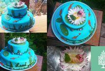 Tauftorten / Baby Cake - Meine Torten http://frau-paulus-tortendrang.de/