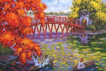 Duc Loc Paintings Collection / Paintings by artist Duc Loc ( some are for sales )