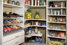 SHARED BOARD Corner Step-In Pantry Ideas