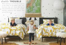 Anatomy of a Room / Some pieces just make a room. What you'll find: bedroom essentials from the bed to the nightstand to bedding; living room must-haves, including sofas, coffee tables, rugs, artwork and throw pillows; nursery and kids' room staples from bunk beds to cribs and tips on tying the room together. / by DwellStudio