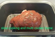 slow cooking and multi cooker home page