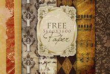 FarFar Hill paper packs / A place for the free digital papers from farfarhill.com