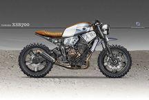 Motorcykel Cafe Racer