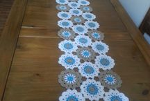 Crochet runners