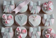 Ślubne muffiny / .