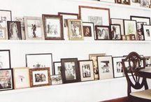 Wall/ shelves/ art