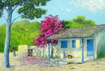 Um dos Melhores Pintores de Paisagens - Antonio Gomes Comonian
