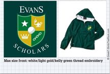 EVANS SCHOLARS T-Shirts That Rock / #EVANSSCHOLARS / by Greek T-Shirts That Rock