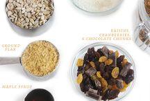 healthy treats / by Christina Dickson