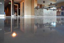 800 Grit Polished Concrete Floors