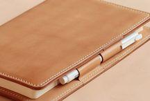 portafolio de cuero