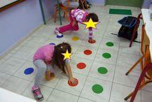 Floor games-Επιδαπέδια παιχνίδια