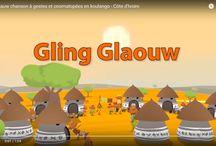 Afrique Dessins animés / Des dessins animés de comptines populaires à regarder et à imiter pour danser, chanter et taper des mains