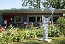 Metal Sculptures / landscape sculptures, large sculptures, outdoor sculptures, mobius sculptures, ribbon sculptures