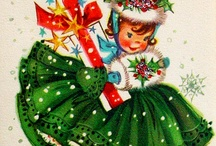 Vintage Christmas Cards / by Paula Lowery