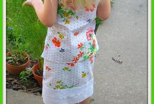 Easy Sew  Little Girl Dresses / by Gina's Craft Corner