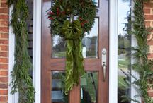 Christmas Door Decor / by Between Naps On the Porch