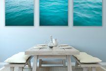 Coastal home decoration