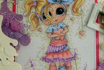 My Besties Cards Made by Julie / My Besties Stamps