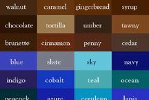 színek ~ color