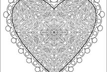stress less colouring pages