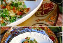 saladas e pastas