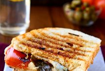 Sandwiches, Paninis and Wraps