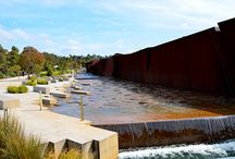 Rockpool Waterway / Cranbourne Botanic Gardens designed by T.C.L., one of the options for weeks 4& 5 modelling exercise.