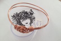 doinWire-Copper-Bangle-Cuff-Bracelet / Images of my doinWire handcrafted copper wire jewellery - it's a little bit different. doinWire handcrafted copper arm décor - bangles, cuffs, bracelets.