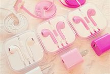Headphones + phone cases