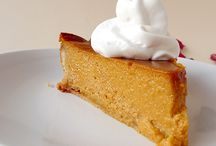 Pumpkin Pies and Cakes