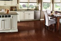 Our Hardwood Selections / We carry gorgeous hardwoods, engineered hardwoods, hand-scraped hardwoods, and exotic woods.