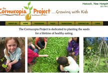 Cornucopia Project / The Cornucopia Project aims to increase children's access to healthy food while providing the education necessary for them to make solid choices about healthy eating. / by ManufacturingStories