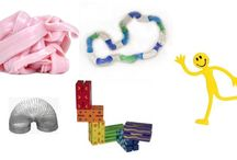 Busy Bags/Fidget Bags / Carry your own fidget bags to help kids keep busy and quiet during times when you need to focus elsewhere.
