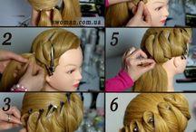 erikoisempia hiuksia