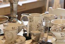 Kauniita astioita ja tavaroita