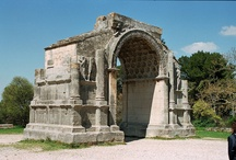 Roman ruins in Provence