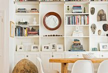 Built-in Book Shelf for Front Room / by Julie Harrison