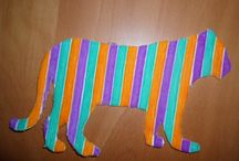 Ribbon / Thing I've made out of ribbon.