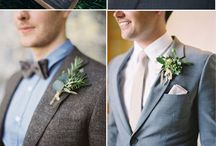 wedding industrial greenery