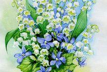 muguet fleurs
