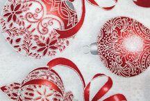 Telas de Navidad de patchwork / Telas 100% algodón