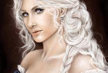 FEMALE • White Hair