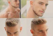 Мужские стрижки и бороды