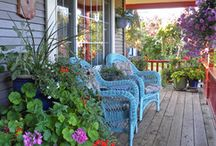 Porches - the best place to relax / by Phyllis Ranger