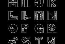 Alphabets & Typographies