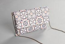 Handbags inspired by the floors of Barcelona / Seasonal bags, handmade and limited edition